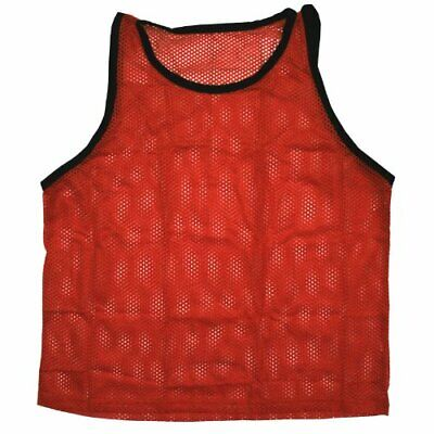 BlueDot Trading Red Adult Vests - Lightweight Pinnies for An