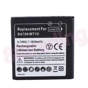 High Quality 1600mAH Battery for Sony Ericsson Xperia Neo Neo V Pro BA700