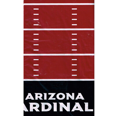 NFL ARIZONA CARDINALS PLASTIC TABLE COVER ~ Birthday Party Supplies Cloth](Cardinal Party Supplies)