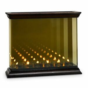 PartyLite  Infinite Reflections Candle Holder Mirrored Glass