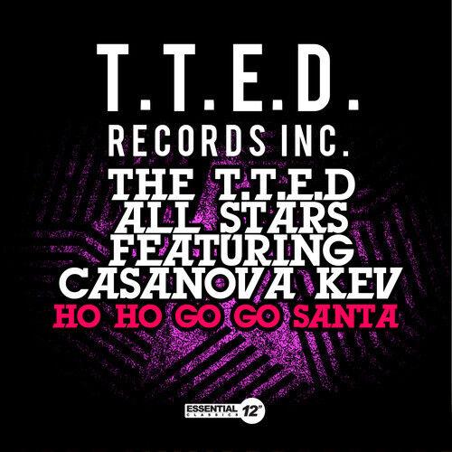 T.T.E.D All Stars - Ho Ho Go Go Santa [New CD] Manufactured On Demand