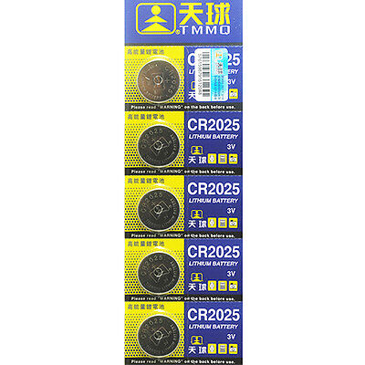 10Pcs CR2025 Batteries 3V Coin Cell Button for Toys Remote Weigher Boards Superb