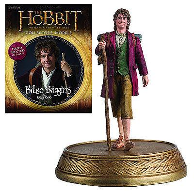 Eaglemoss * Bilbo Baggins * #3 Figurine & Magazine Lord of the Rings Hobbit LOTR