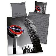 London Duvet Cover