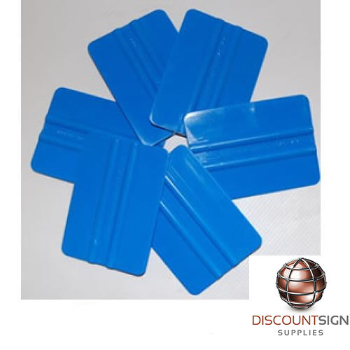 Blue Squeegee used for Oracal, Arlon, Avery, 3M Vinyls