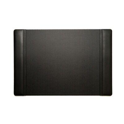 Bey-berk Desk Pad Black Leather 20x34