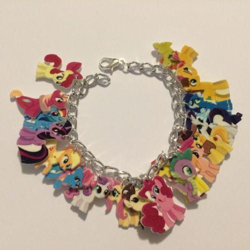 plastic charm bracelet ebay