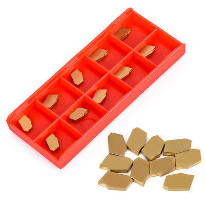 10 X Sp200 Nc3020 Gtn-2 Grooving Cut-off Carbide Inserts 2mm Width For Cnc Tool