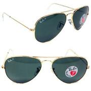 Aviator Sunglasses Green Lens