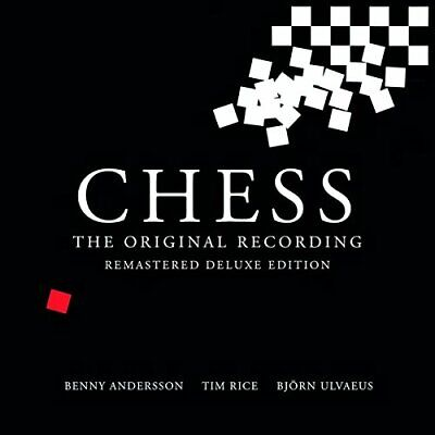 ABBA CHESS  MEGA RARE Remastered Deluxe Edition 2CD/DVD Excellent throughout