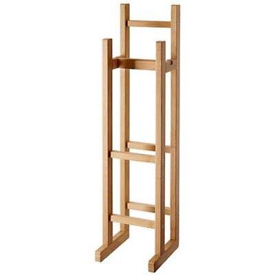 IKEA RÅGRUND Toilettenpapierhalter Klopapierhalterung aus Bambus RAGRUND WC NEU