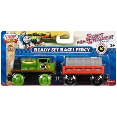 READY SET RACE! PERCY Thomas & Friends Wooden Railway NEW IN (Ready Set Race)