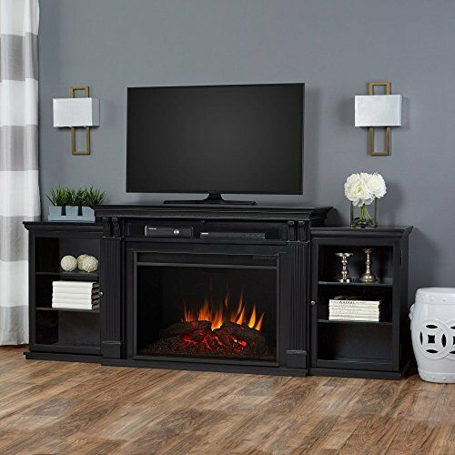 Real Flame Tracey Grand Electric Fireplace Black 8720E-BLK