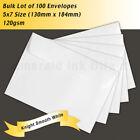 "White Craft Envelope 5"" x 7"" Size"