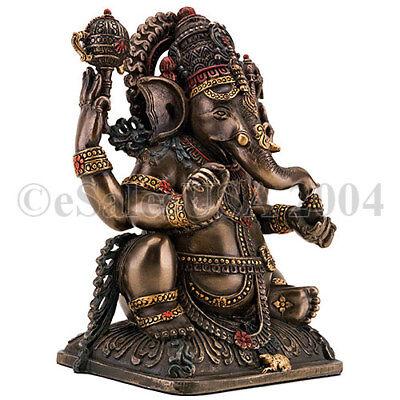 Lord Prosperity Fortune Elephant Wisdom Shiva Statue Ganesh Ganesha Ganesa Hindu