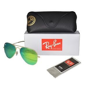 Authentic Ray Ban Flash Lens Green