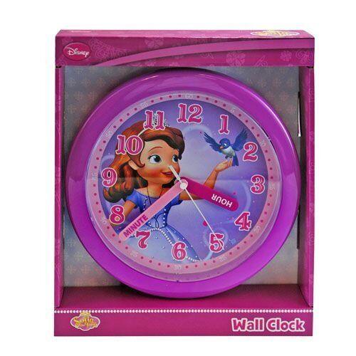 Disney-Sofia-The-Princess-WALL-Clock-Brand-new-factory-boxed