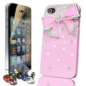 iPhone 4 3D Bling Case