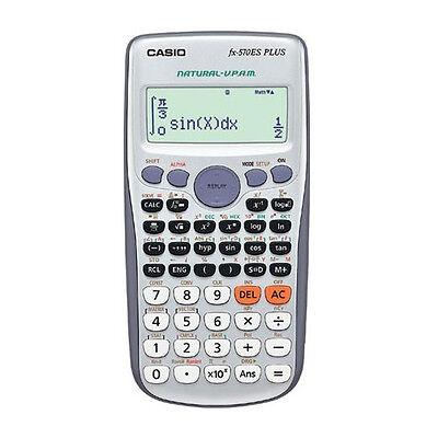 Genuine CASIO FX-570ES PLUS Natural Display 417-Functions Scientific Calculator