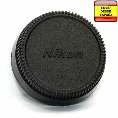 Tapa trasera objetivo LF-4 Nikon D7100 D5100 D3100 D3000 D750 D70 D60...