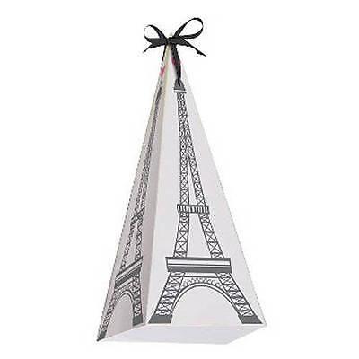 Party in Paris 24 Treat Boxes  with the Eiffel Tower Paris Theme Party favor