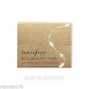 INNISFREE-Eco-Beauty-Tool-Natural-Oil-Control-Paper-1Pcak-50pcs