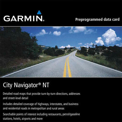 Garmin City Navigator NT Europa SD / MicroSD Karte 2018/2019