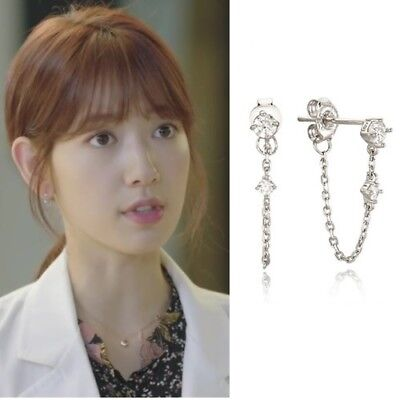Agatha Paris Luire Silver 925 Earrings Kdrama Doctors Park Shin Hye Hallyu For Sale Online Ebay