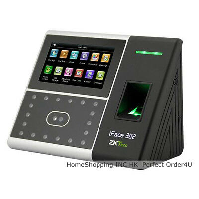 Zkteco Face Fingerprint Identification Attendance Tme Clock Door Access Control