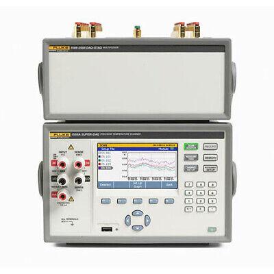 Fluke Calibration 1586a1ds 120 Super-daq Precision Temp Scanner