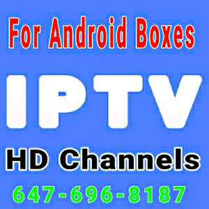 IPTV  Live Channels Android Boxes fire stick apple tv Box
