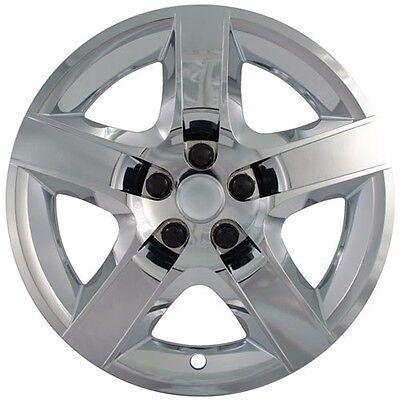 "NEW 2008-2012 Chevy MALIBU 17"" Hubcap Wheelcover 5-spoke CHROME"