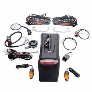 Honda CRF250X CRF450X Tusk Enduro Lighting Kit w/ Handguard Turn Signals