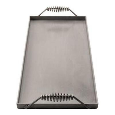 New 2 Burner Portable Griddle Plate Flat Grill Uniworld Ugt-12 2643 Handles