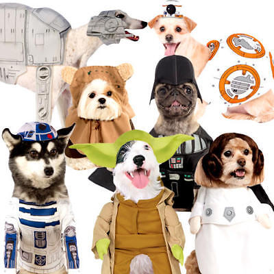 Star Wars Dog Fancy Dress Halloween Sci Fi Film Animal Puppy Pet Costume Outfits