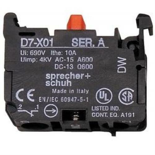 Sprecher + Schuh Contact Block D7-X01