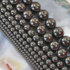 Hematite Spacer Round Loose Stone Beads