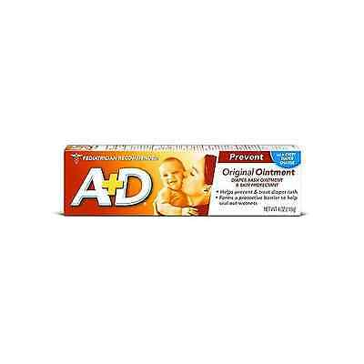NEW A + D ORIGINAL OINTMENT DIAPER RASH & SKIN PROTECTANT OINTMENT-4 OZ TUBE