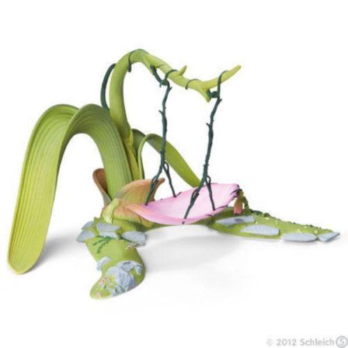 NEW IN BOX SCHLEICH 42096 Bayala Elf Fairy Floral Swing - RETIRED