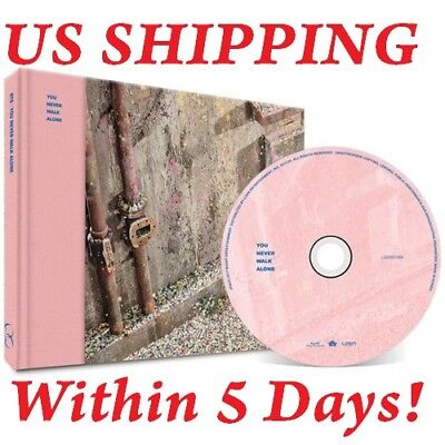US SHIPPING BTS[WINGS:YOU NEVER WALK ALONE]RIGHT CD+BTS POSTER+etc+Gift+Tracking