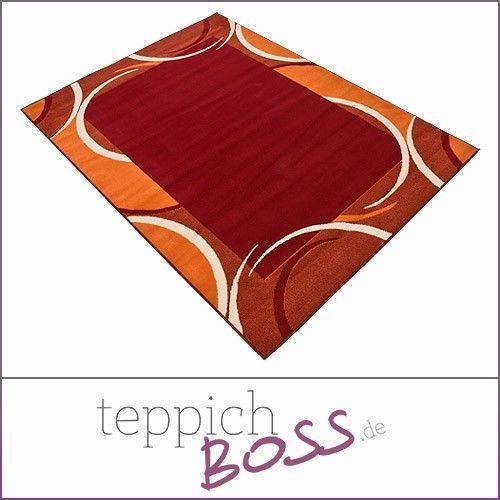 shaggy teppich braun einrichtung retro flair modern bunte möbel
