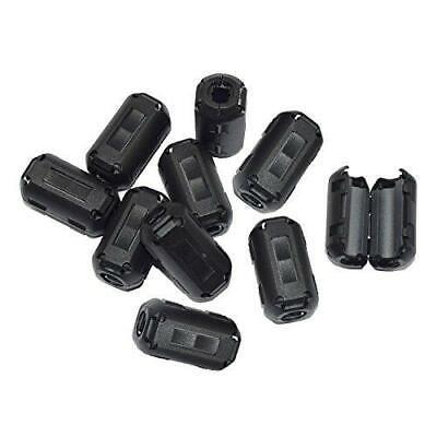 Stardrift 10-pack 7mm Inner Diameter Ferrite Core Cord Ring Rfi Emi Noise Filter