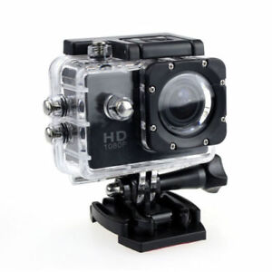 1080P HD Sports Action Camera Waterproof 30M / Car DVR
