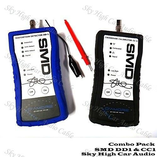 SMD DD1 CC1 Combo Pack Steve Meade Distortion Detector Crossover Calibrator