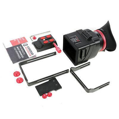 VF-4+ LCD VIEWFINDER W/ExtensionBracket for DSLR & Mirrorless Camera Canon Nikon
