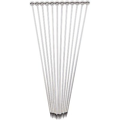 "Extra Long Stainless Steel 8"" Cocktail Picks"