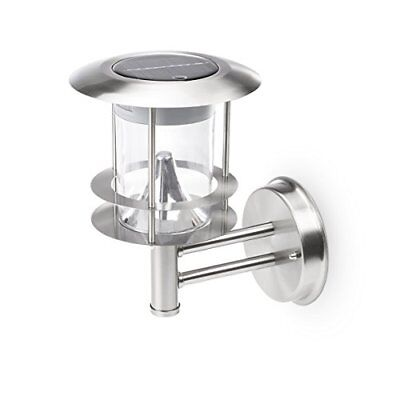 Smartwares 10.048.11 GWS-177-MS Solar Wall Light with Motion Detector, Chrome