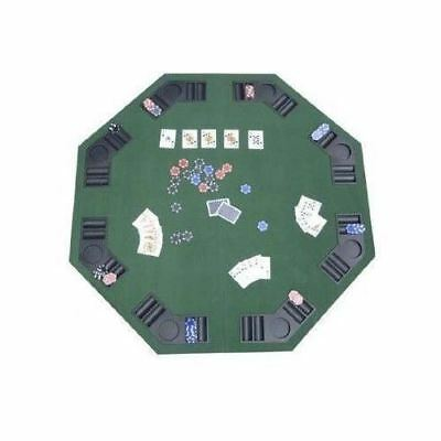 ckjack Table Top Folding Hexagon Drink Holder 8 Player Game (Blackjack Table Felt)