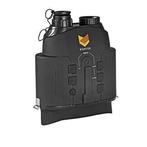 Nightfox 110R Widescreen Night Vision Binocular,165yd Range - Recording Function