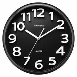 Large Wall Clock 13 Silent Non-Ticking Quartz Decorative Clocks Modern Style
